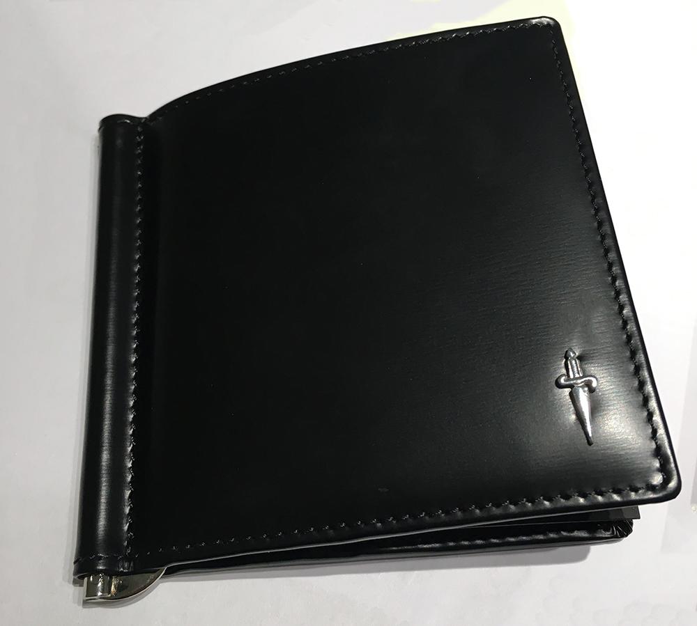 ec30334788 Cesare Paciotti - maronogioielli - CESARE PACIOTTI porta carte di credito  in pelle con clips SL0065