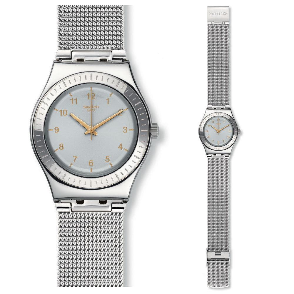 Popolari Acciaio Orologio Gioielli Donna ᄄC Swatch Con Diamanti W9IYDHE2