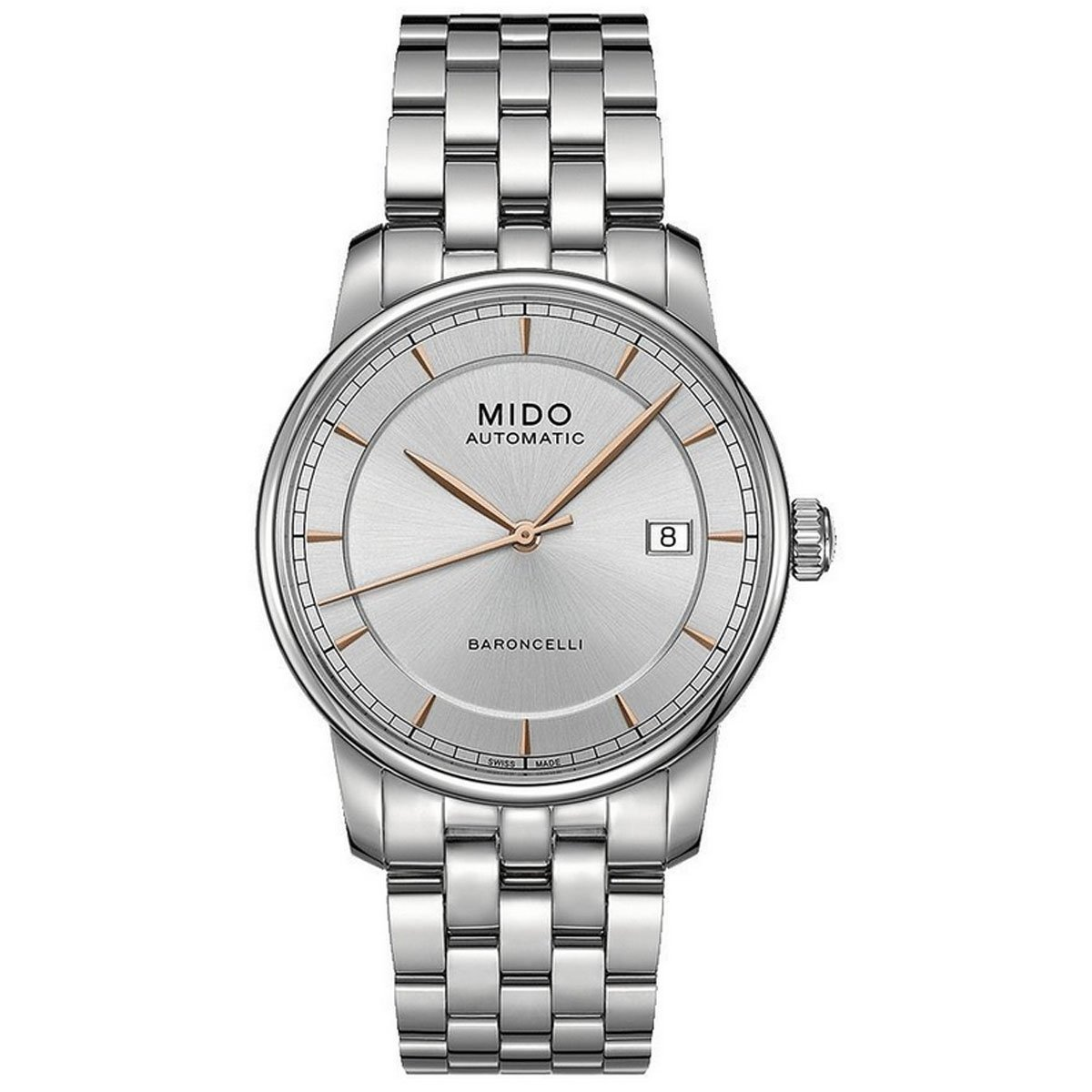 MIDO man watch automatic new BARONCELLI II M8600.4.10.1