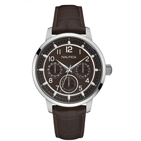 NAUTICA mens Watch multifunction 44mm Nct 15 multi NAD13547G