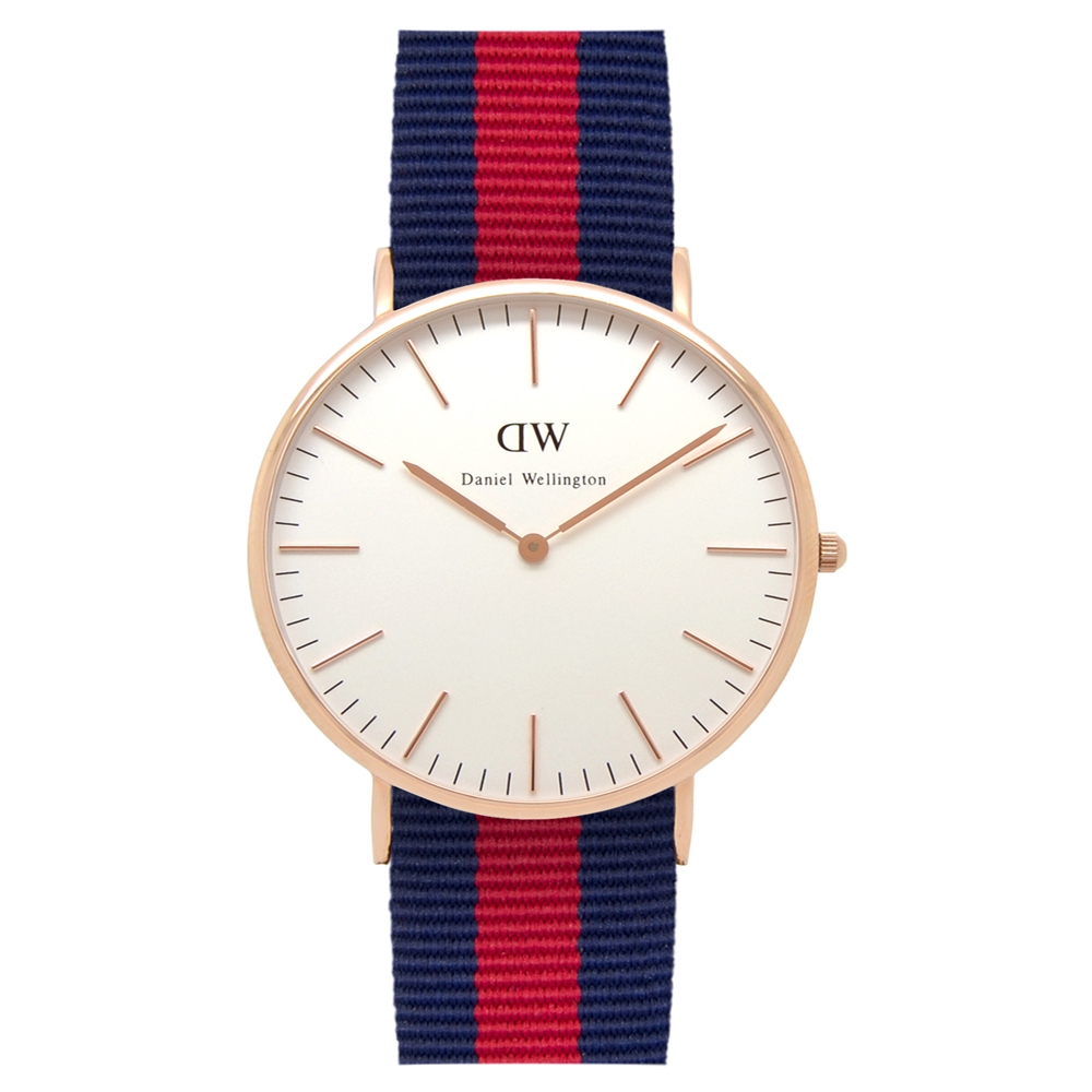 Daniel wellington unisex 40mm classic Oxford Rose Gold DW00100001
