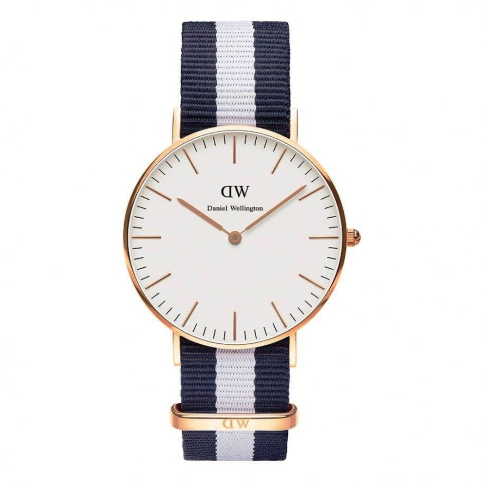 Daniel wellington watch is 36mm unisex classic Glasgow Rose Gold DW00100031