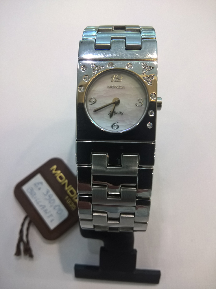 Woman watch with diamonds Mondia 1-518-BR3