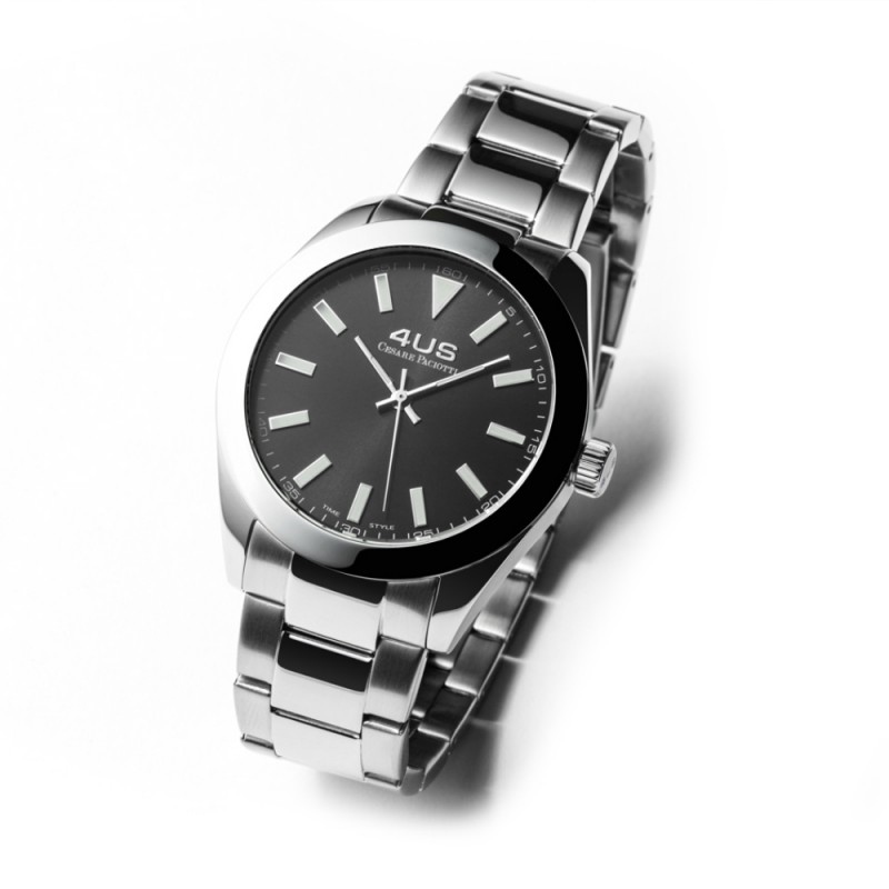 Cesare Paciotti 4US watch Smooth black steel T4LS179