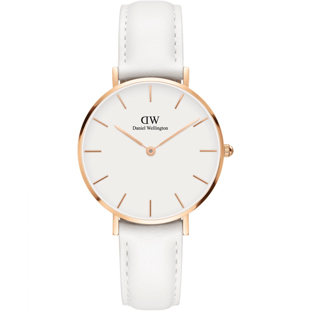 Daniel Wellington watch Classic Petite 32mm Bondi ros white leather DW00100189