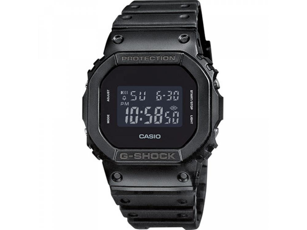 Casio g-shock digital watch black cronotimer alarm DW-5600BB-1ER