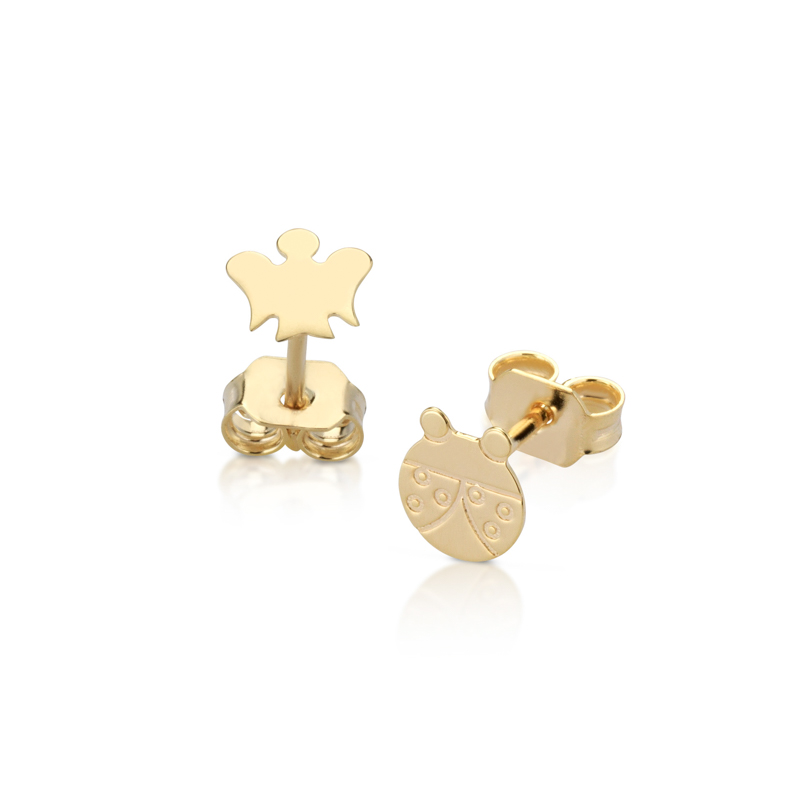 Giannotti earrings baby girl yellow gold 375 NKT244