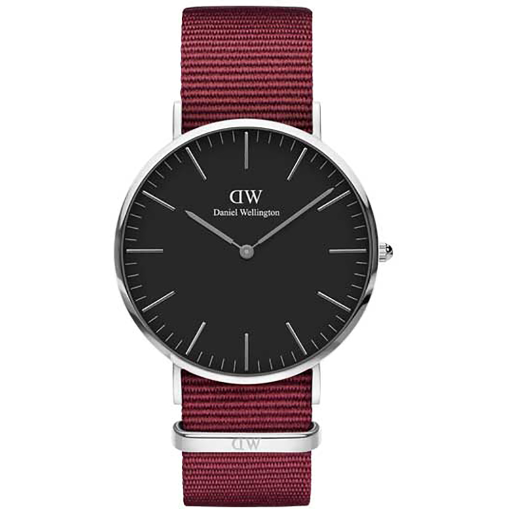 Daniel Wellington watch Classic Black 40mm Roselyn steel case DW00100270