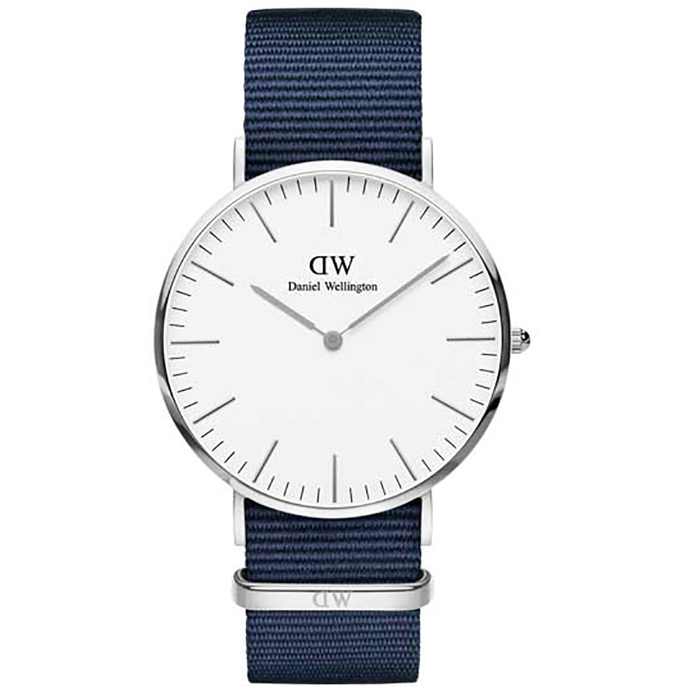 Daniel Wellington Classic 40mm case Bayswater case steel DW00100276