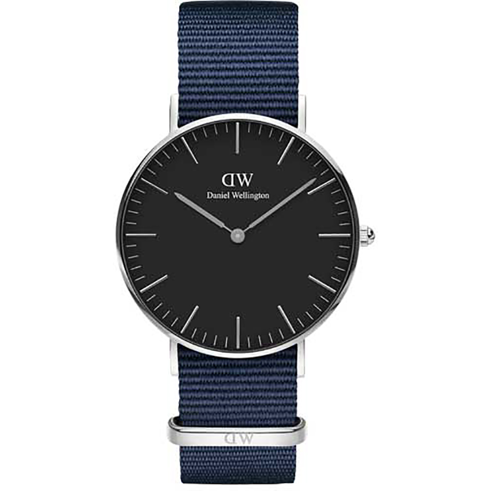 Daniel Wellington watch Classic Black 36mm Bayswater case steel DW00100282