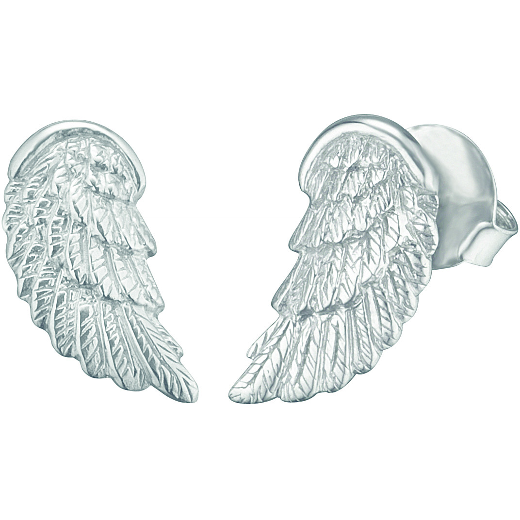 Engelsrufer earrings in silver alaa lobe ERE-WING-ST