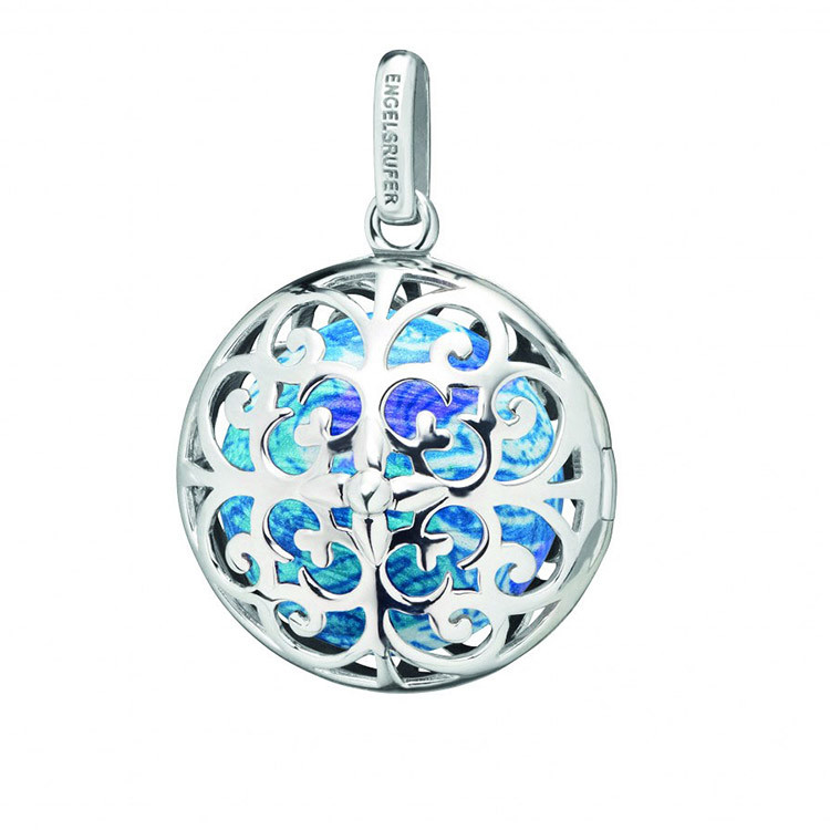 Engelsrufer charm women silver plate blue sphere of chakra ERP-WATER-MOON