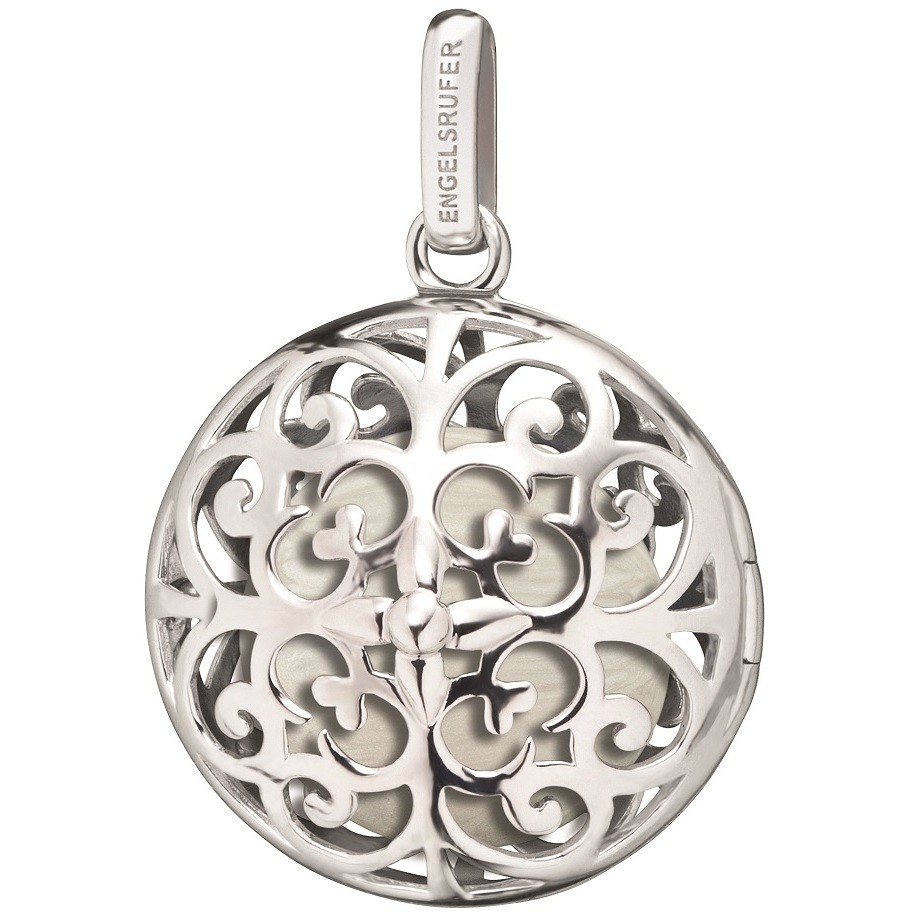 Engelsrufer charm women's silver flat ball silver chakra ERP-AIR-MOON