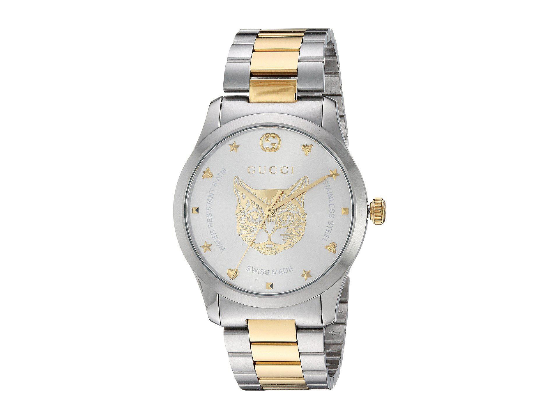 Caricamento dell immagine in corso Gucci-orologio-uomo-G-Timeless-38-mm- acciaio- 0b7b06d7f839