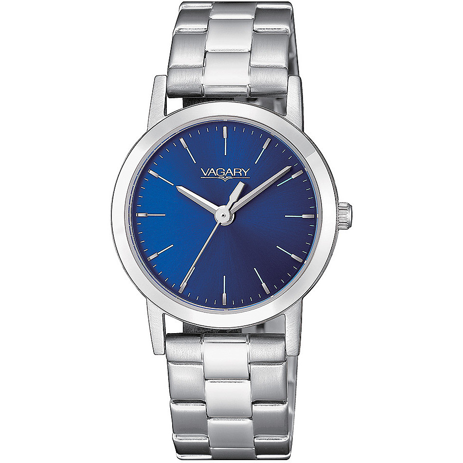 Vagary watch woman steel blue dial only time IK7-511-71