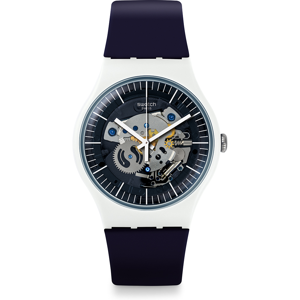 Swatch orologio uomo new gent SILIBLUE SUOW156
