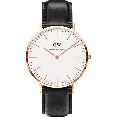 Daniel Wellington Classic Petite 40mm Sheffield ros nero DW00100007