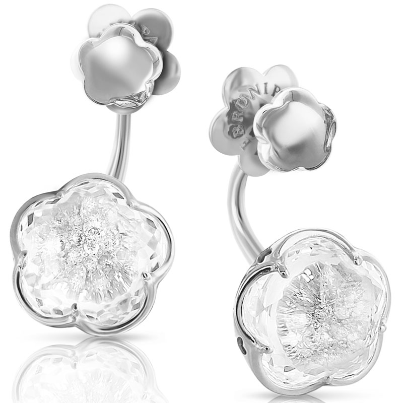 Pasquale Bruni earrings bon ton white gold diamond 15304b