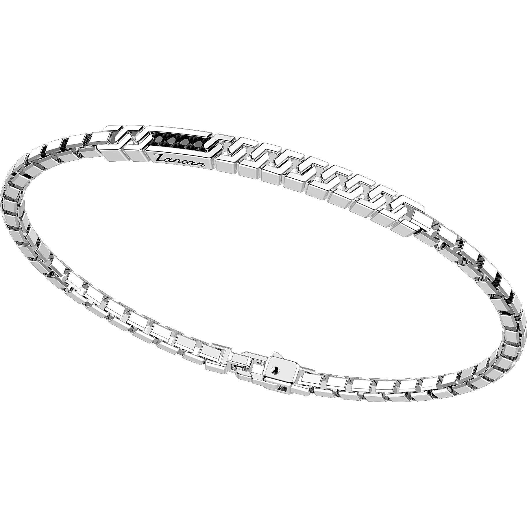 Zancan Bracelet in silver mesh venetian and spinelli EXB821