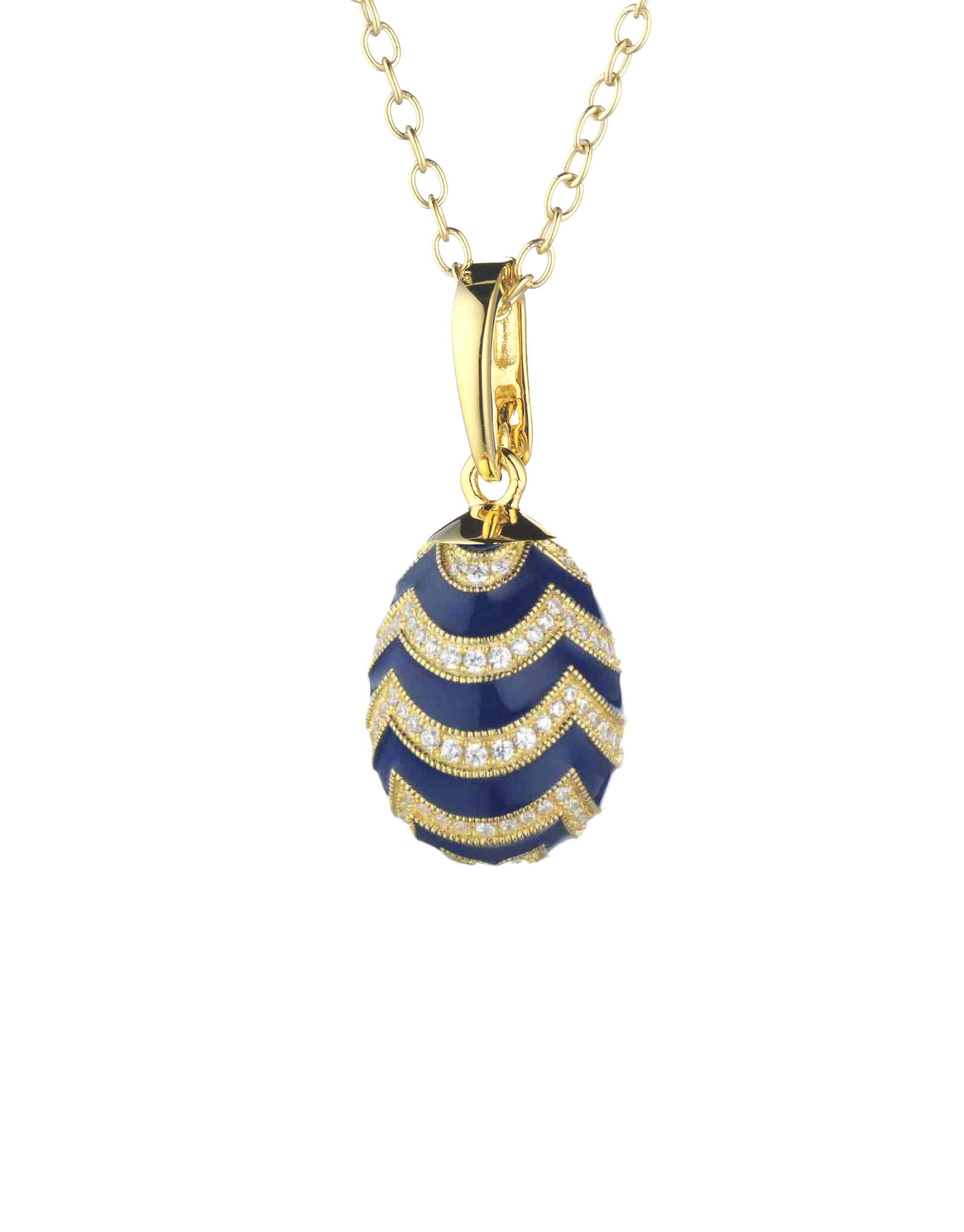 pendant blue Peter Carl Faberge PF029DB