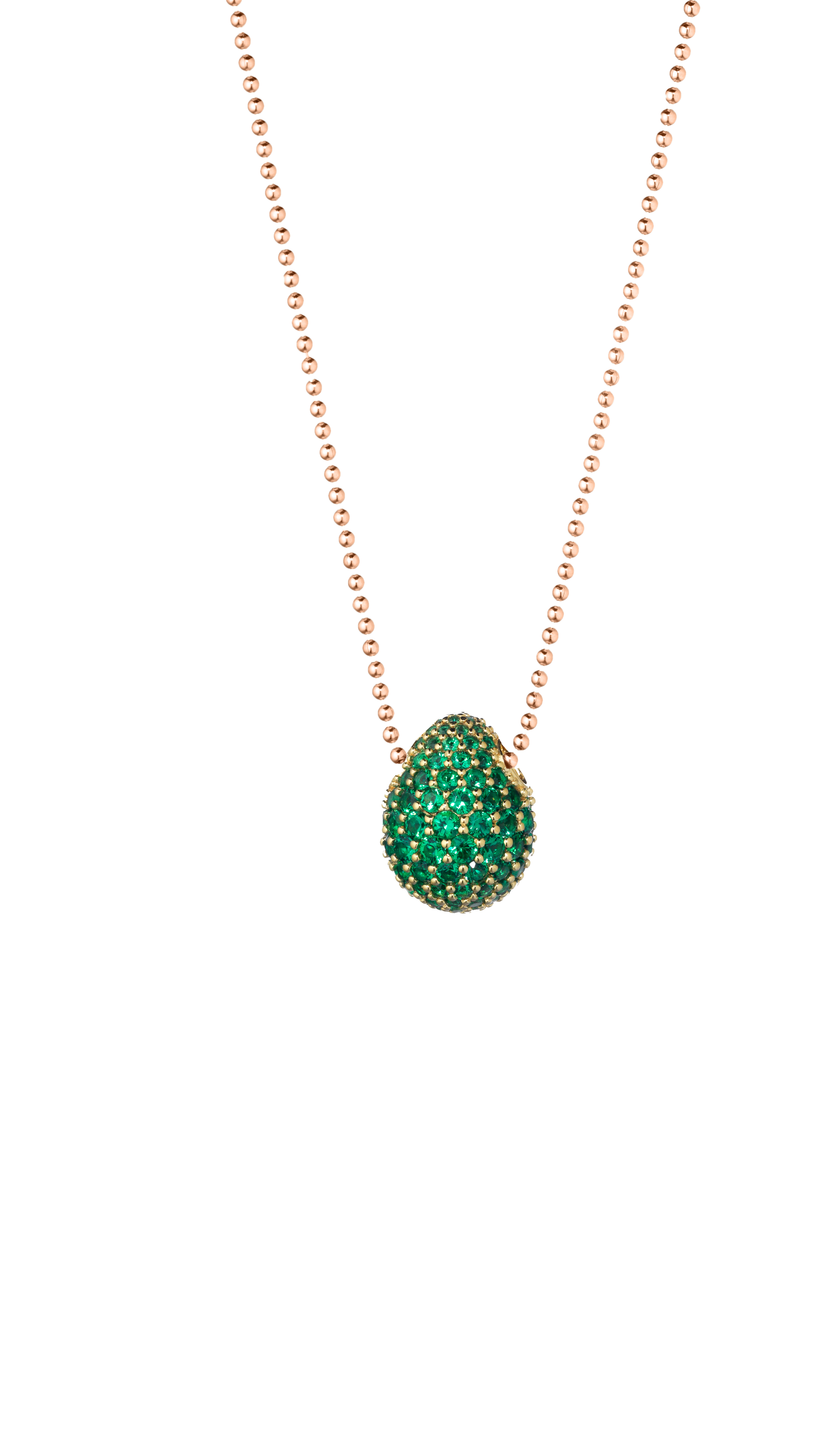 Collana Green Eye N 9 Faberge Medium