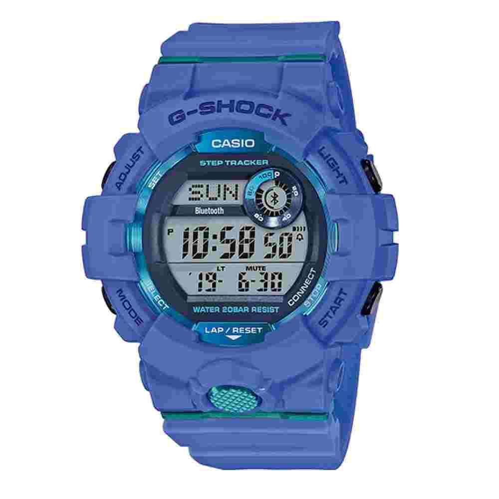CASIO DIGITAL WATCH RUBBER BLUE GBD-800-2ER