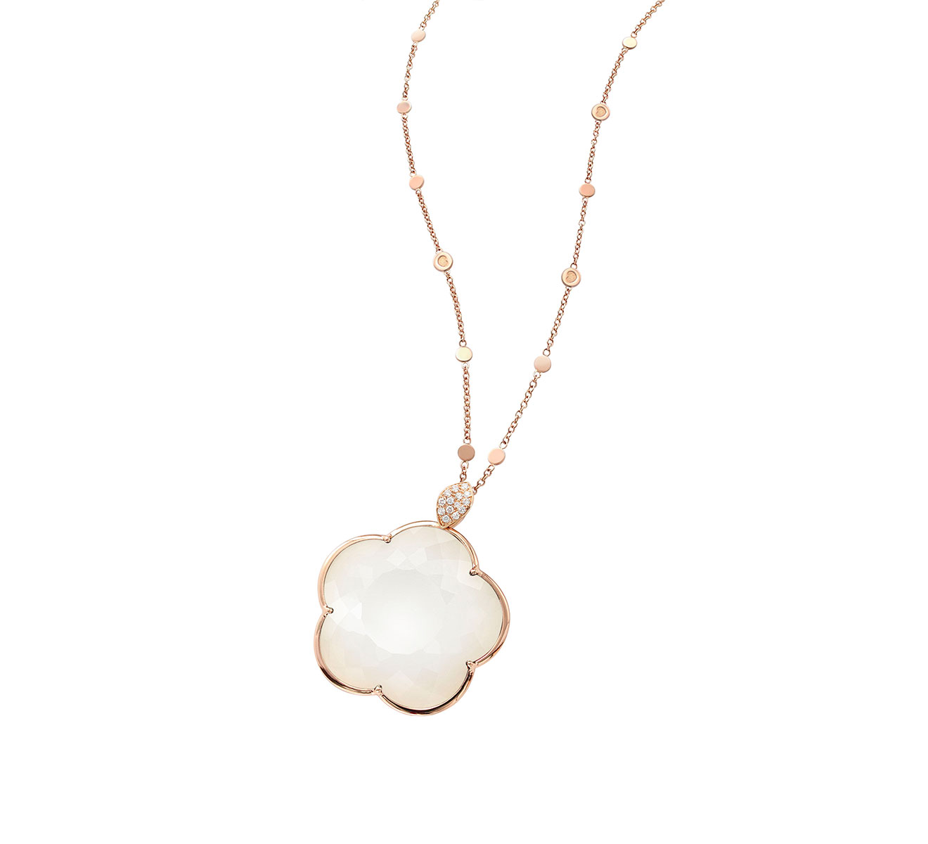 Pasquale Bruni Necklace Easter Ton Ton Joli gold white agate 15867R