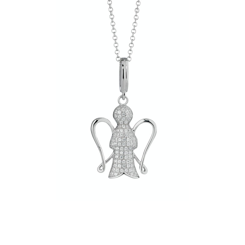 Giannotti necklace, Angels silver 925 GIA135