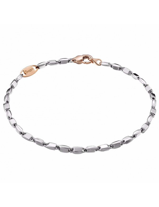 ZANCAN BRACELET IN WHITE GOLD WITH CLOSURE ROSA EB554BR