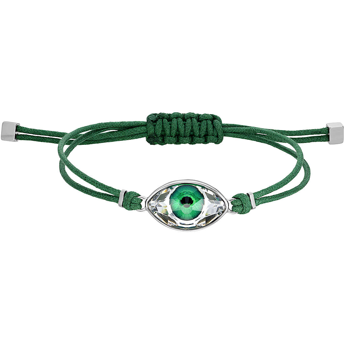 Braccialetto Swarovski Power Collection verde acciaio inossidabile 5508535