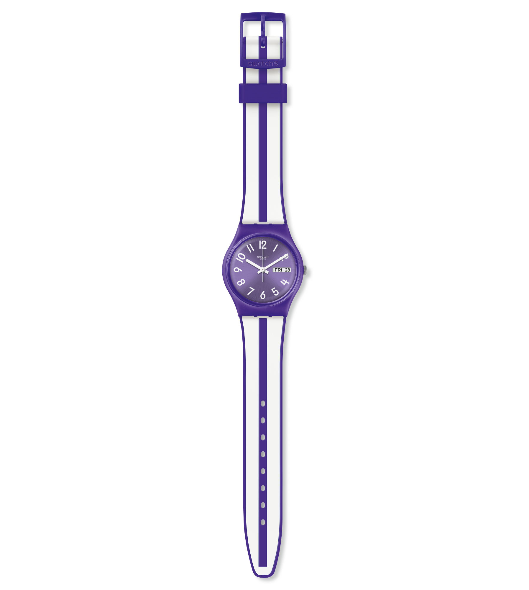 SWATCH UNISEX WATCH DAUGHTER IN LAW, MULBERRY REF. GV701
