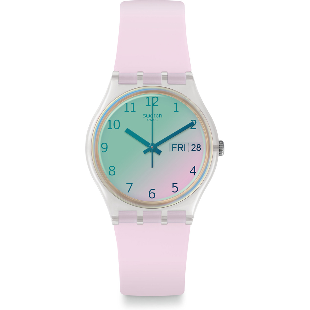 SWATCH WOMAN WATCH VARIOUS SHADES OF PINK REF. GE714