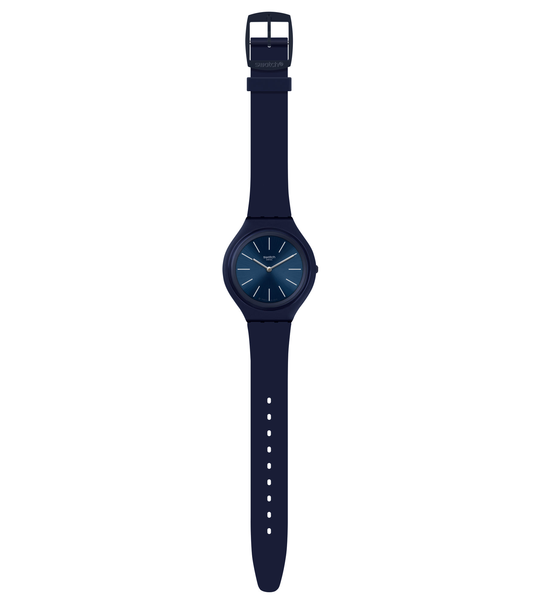 SWATCH WATCH MENS WATCH NAVY BLUE REF. SVUN107