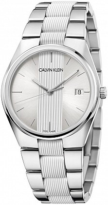 CALVIN KLAIN mens Watch case steel strap steel K9E211K6