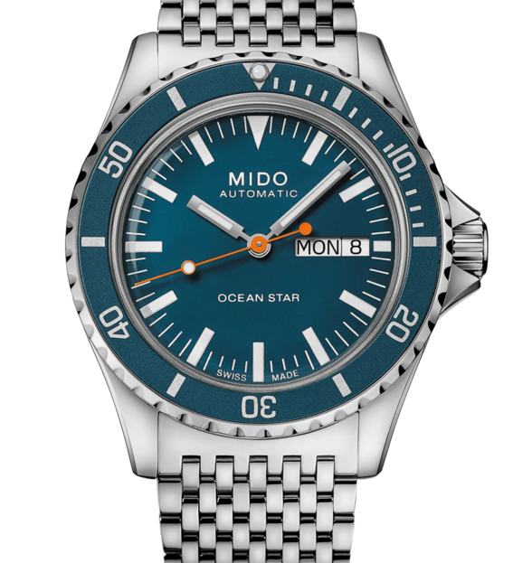 MIDO mens Watch Ocean Star Tribute M026.830.11.041.00