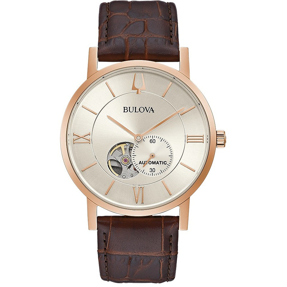BULOVA Men's Watch Automatic Clipper Classic 97a150