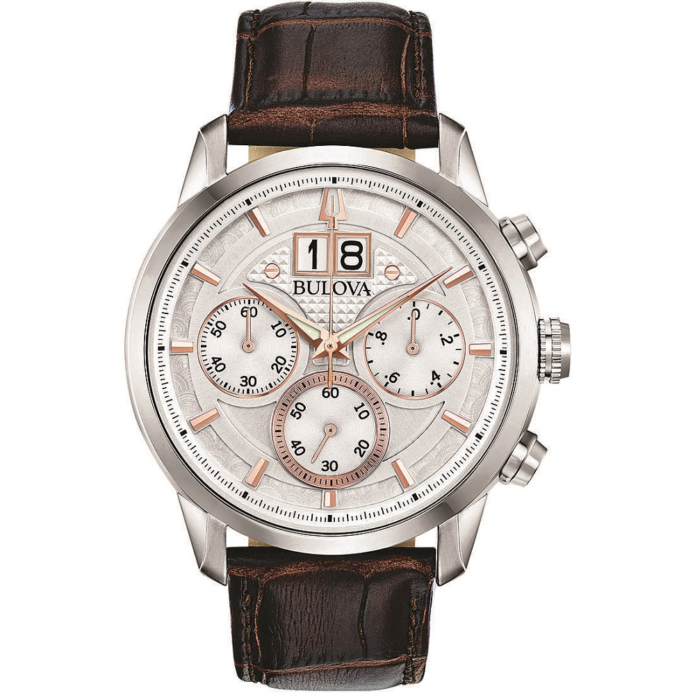 BULOVA Watch Men's Sutton Classic 96b309
