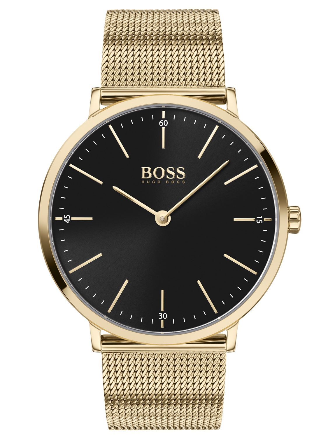 HUGO BOSS Analog Watch Quartz Man's with Stainless Steel Strap 1513735
