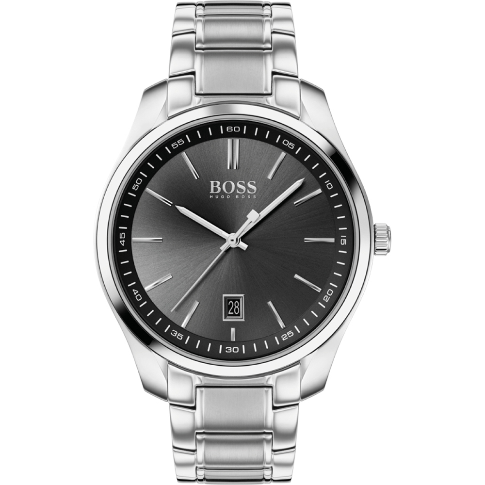 HUGO BOSS Analog Watch Quartz Man's with Stainless Steel Strap 1513730