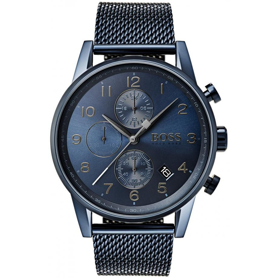 HUGO BOSS Watch Watch only time leather strap 1513502