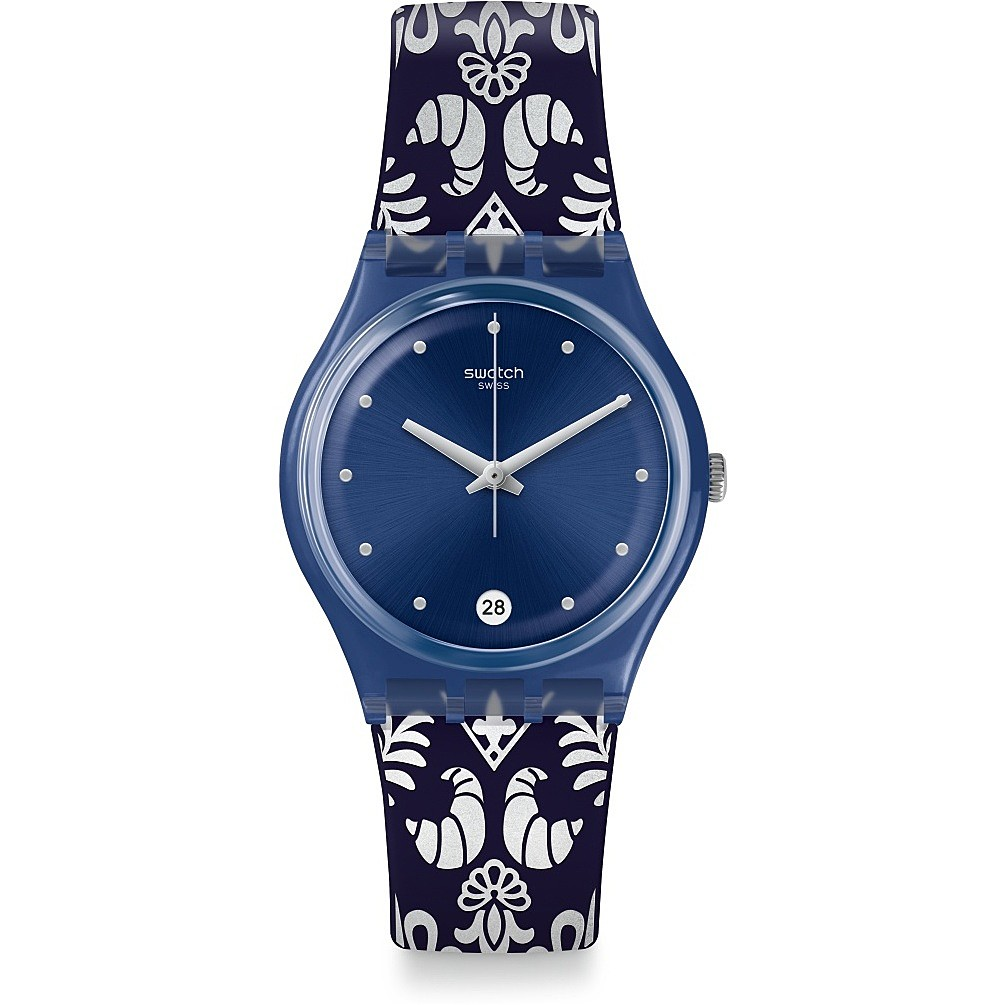 SWATCH watch only time woman Swatch Knightliness GN413