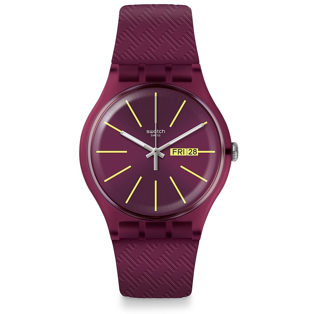 SWATCH Watch Only Time Woman VINERY SUOR709