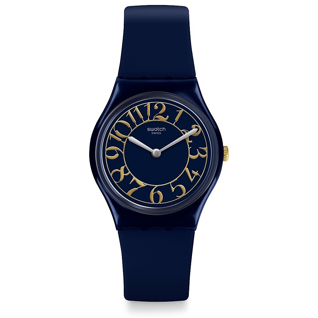 SWATCH WATCH RETRO BACK IN TIME BLUE GN262