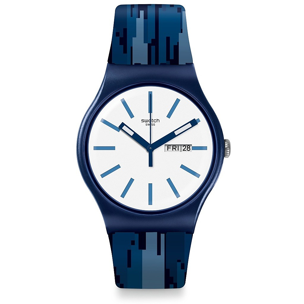SWATCH WATCH ONLY TIME UNISEX FIAMMABLU SUON712