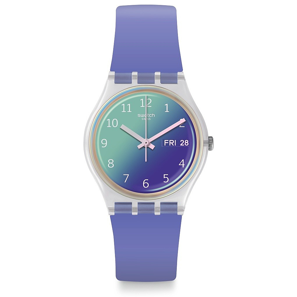 SWATCH WATCH ONLY TIME WOMAN ULTRALAVANDE GE718
