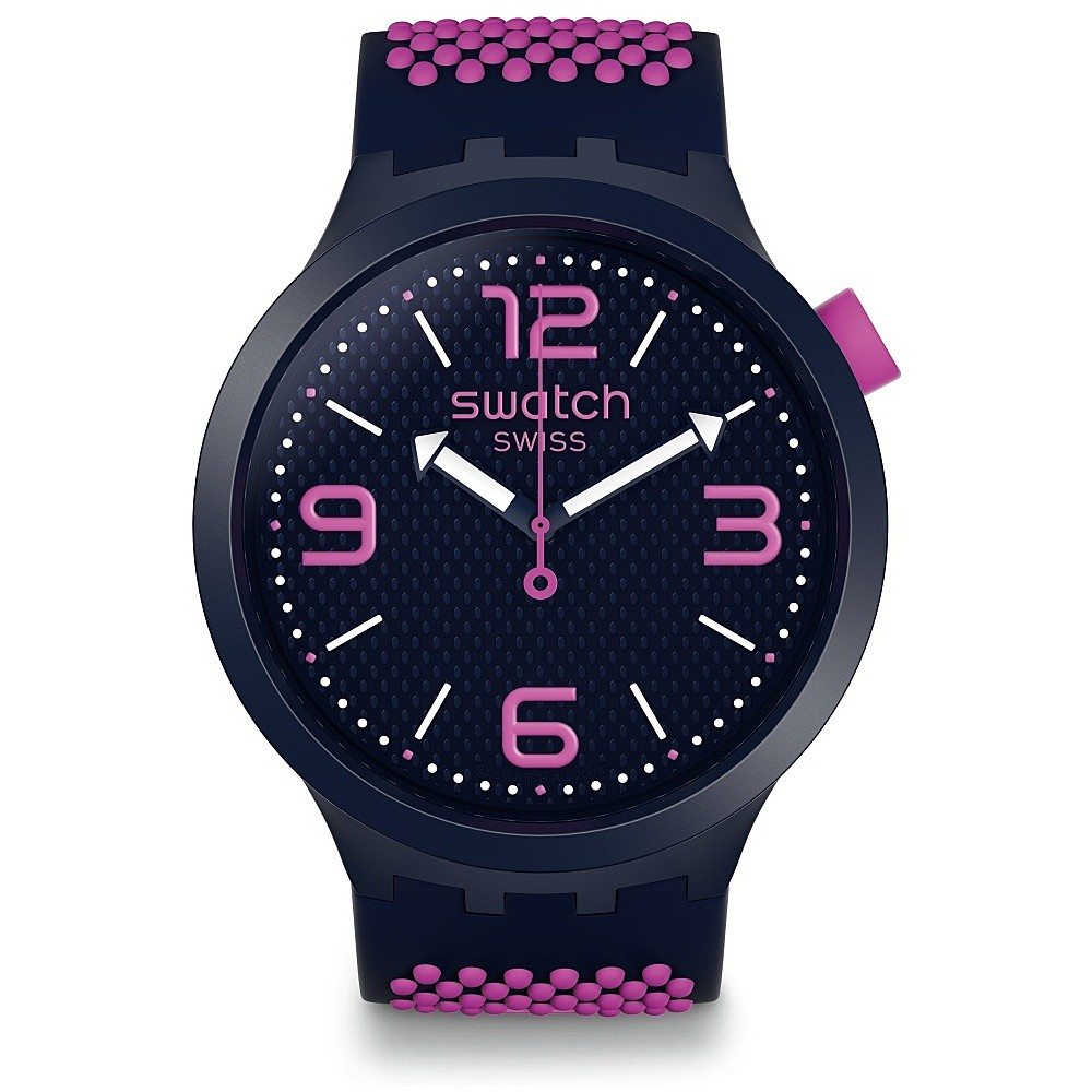 SWATCH MENS WATCH BIG BOLD PURPLE SO27N103