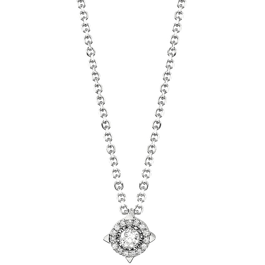 Bliss Collierino Lumina white gold and diamonds ct 0,08 20077815