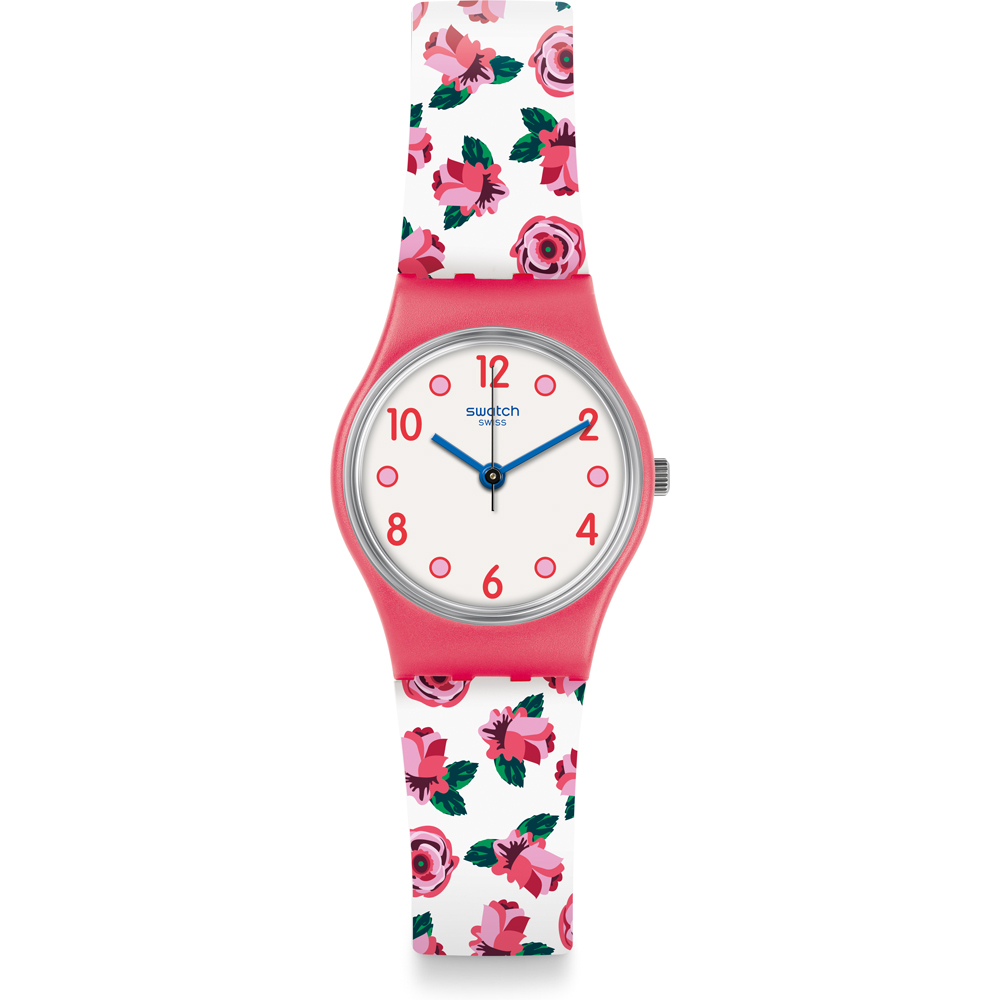 SWATCH DAMENUHR ARMBAND THEMA ROSE LP154