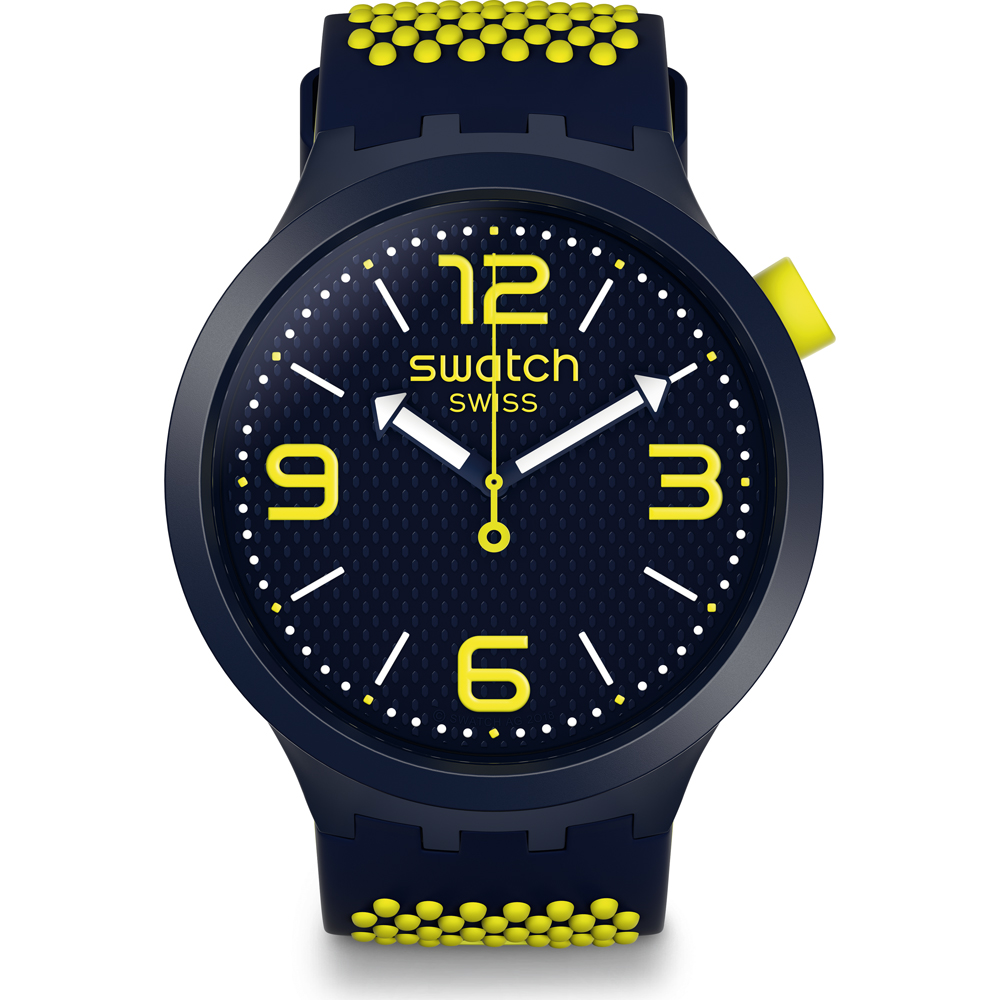 SWATCH HOMME REGARDER BB NÉON SO27N102