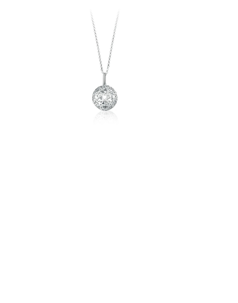 Giannotti Necklace Called Angels In Silver and cubic Zirconia Ref. SFA138